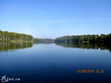 река Стряна, приток Десногорского водохранилища