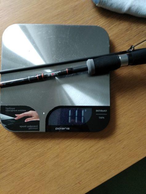 Вес спиннинга ФТК абсолют 3-15