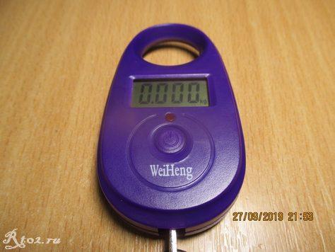 Включенные весы Weiheng