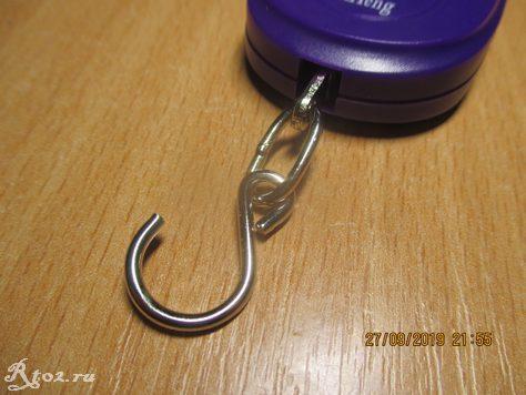 крючок весов для рыбалки