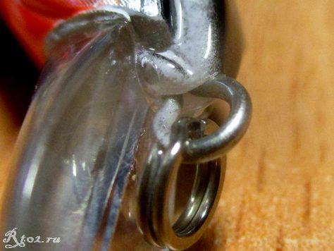 передняя петля копии воблера инквизитор 110