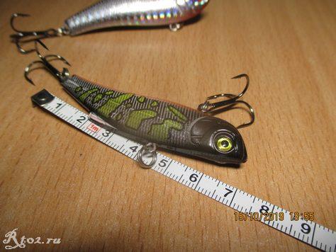 Длина виба 70 мм от Angler