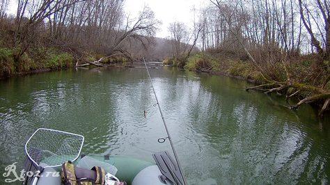 октябрь на малой реке