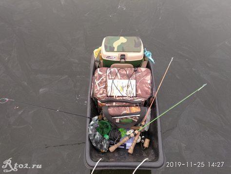 Зимние санки для рыбалки