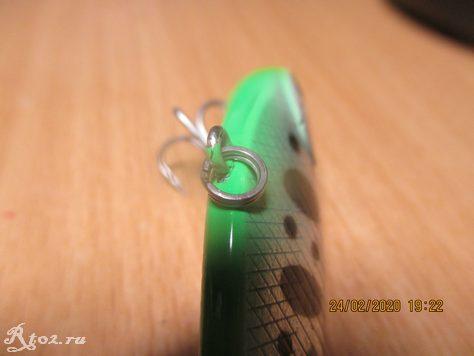 Кольцо на верхней петле