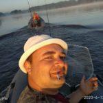 Выезд на рыбалку 12 июня 2020 года на Десногорское водохранилище