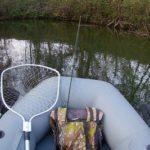 Ловля щуки спиннингом 4 октября 2020 г. на малой реке