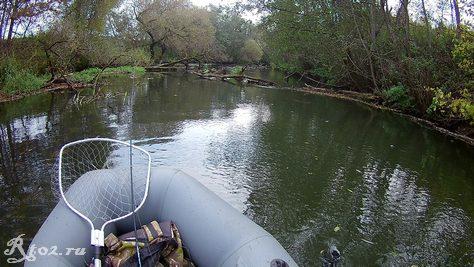 Сплав по малой реке 4 октября 2020