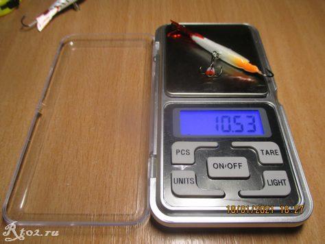 Вес балансира Sharks IL199 10,53 гр.