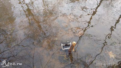 Камера под водой для съемки игры приманок