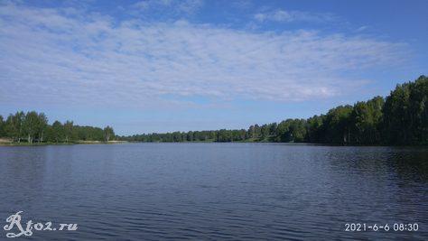 Десногорское водохранилище 5 июня 2021