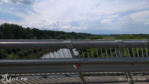 Гусинский мост через Днепр