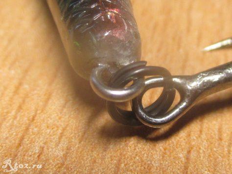 Петля третьего тройника Lucky Craft Slender Pointer из китая