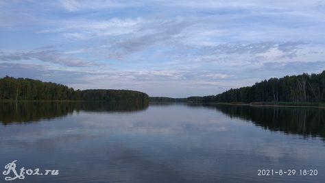 Десногорское водохралище в конце августа 2021 5