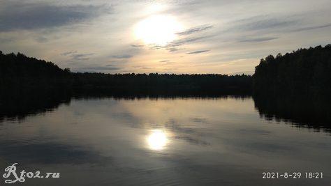 Десногорское водохралище в конце августа 2021 6