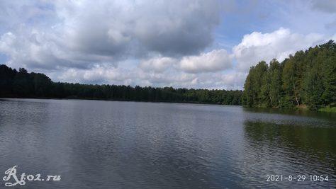 Десногорское водохралище в конце августа 2021 2