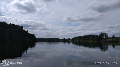 Десногорское водохралище в конце августа 2021 3