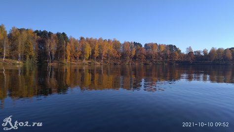 Стряна Десногорское водохранилище